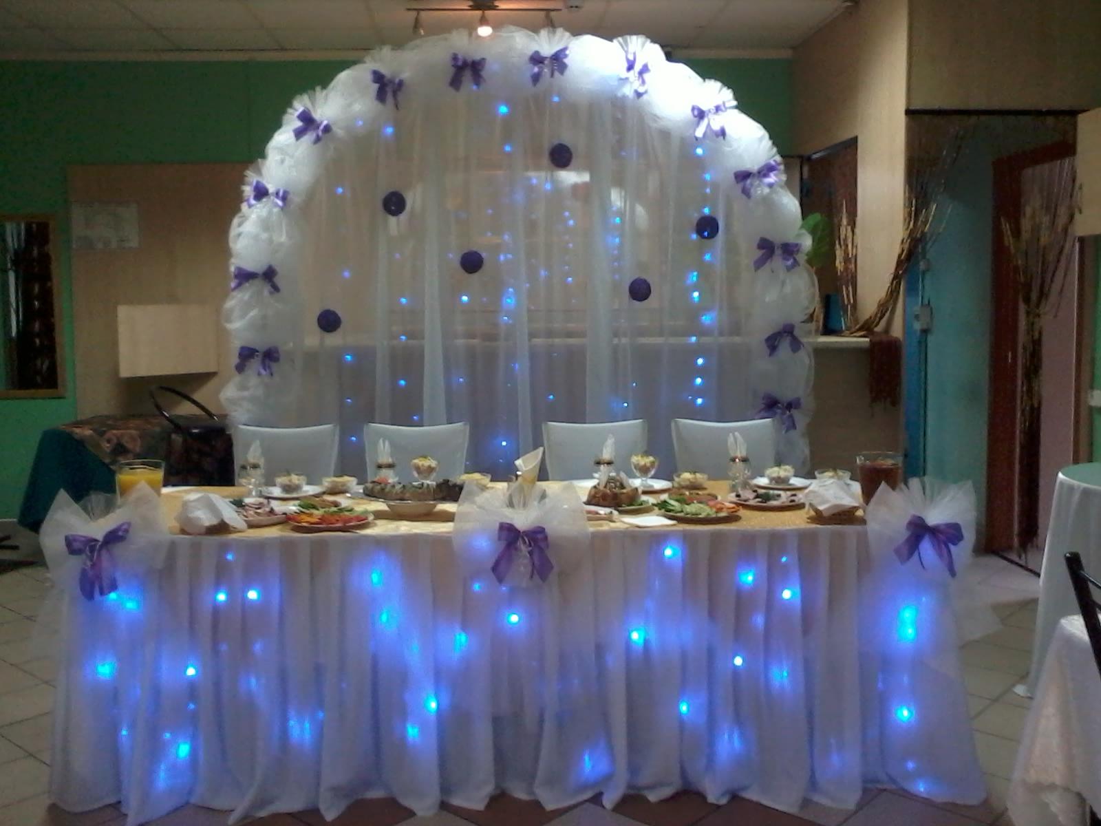 Свадебной декорации зала своими руками